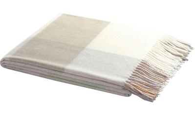 BIEDERLACK Plaid »Plaid Conny«, modernes Karo kaufen