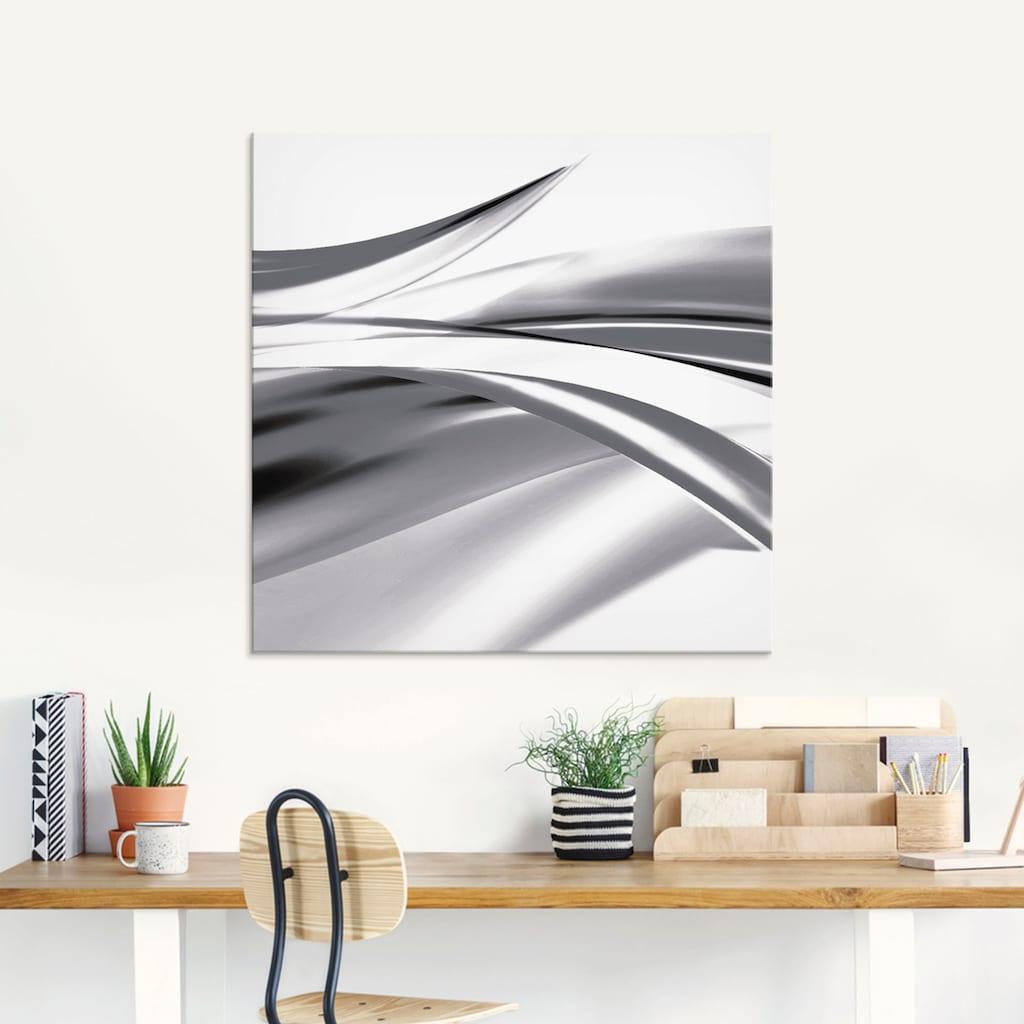 Artland Glasbild »Schöne Welle - Abstrakt«, Gegenstandslos, (3 St.)
