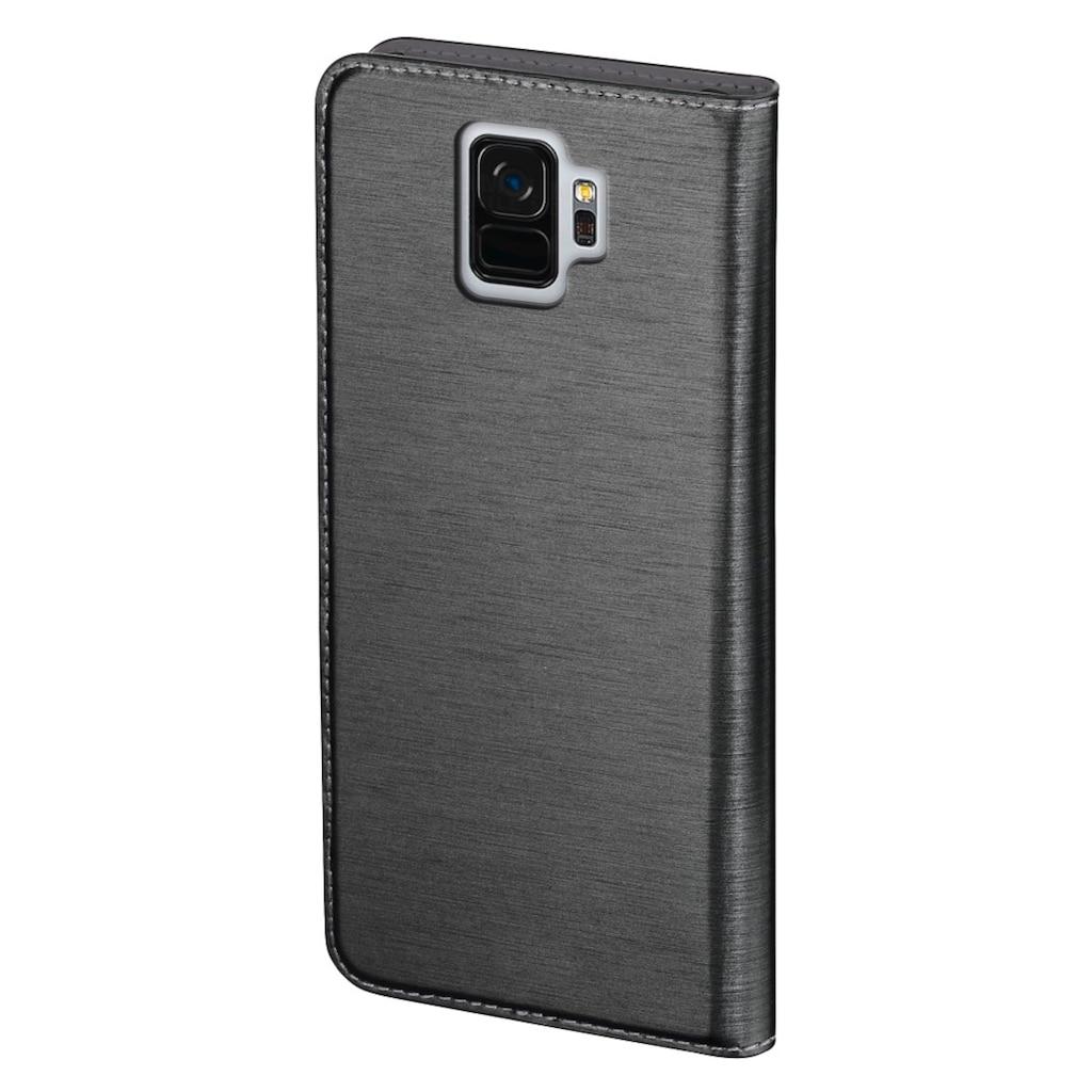 "Hama Booklet ""Slim"" für Samsung Galaxy S9, Dunkelgrau"