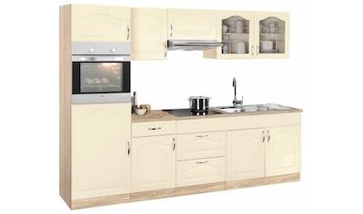 wiho Küchen Küchenzeile »Linz«, ohne E-Geräte, Breite 270 cm kaufen