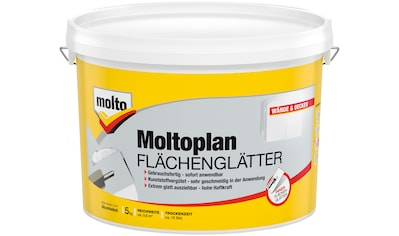 MOLTO Fertigspachtel »Flächenglätter Moltofill«, weiß, 5 kg kaufen