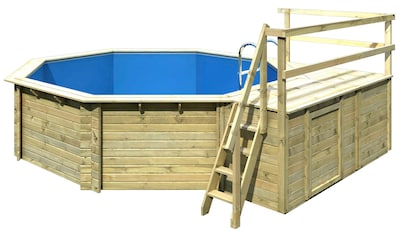 Karibu Achteckpool »Holzpool Gr. 2 Set C« (Set) kaufen