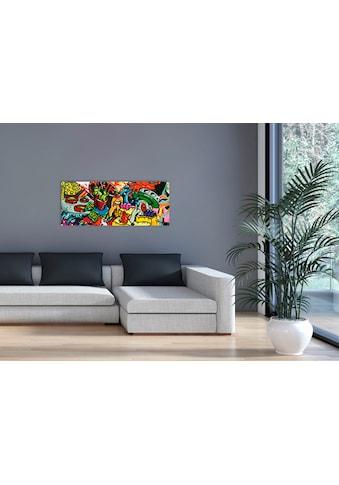 """Marmony Infrarotwandheizung »MOTIV-Heizkörper """"Graffiti"""", 800 Watt«, trocknet Wände... kaufen"""