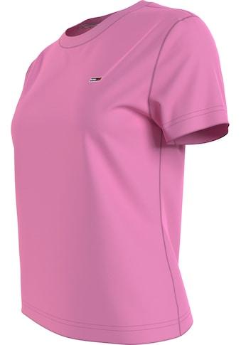 Tommy Jeans Rundhalsshirt »TJW REGULAR JERSEY C NECK«, mit Tommy Jeans Logo-Flag auf... kaufen