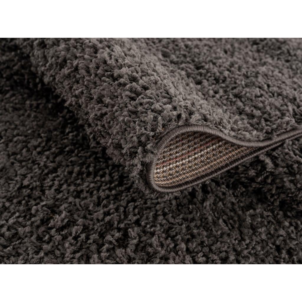 andas Hochflor-Teppich »Saron«, rechteckig, 35 mm Höhe, Höhe 35mm, Wohnzimmer