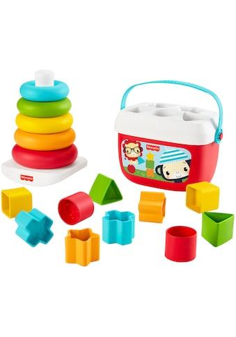 Fisher-Price® Stapelspielzeug »Stapel & Sortier Spielset«, aus pflanzlichen Materialien kaufen