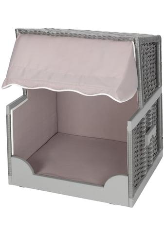 ABUKI Tierbett »Bobby«, Polyester, Hundestrandkorb, BxLxH: 75x57x95 cm kaufen