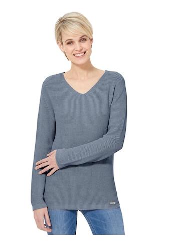 Casual Looks Pullover im Strukturstrick kaufen
