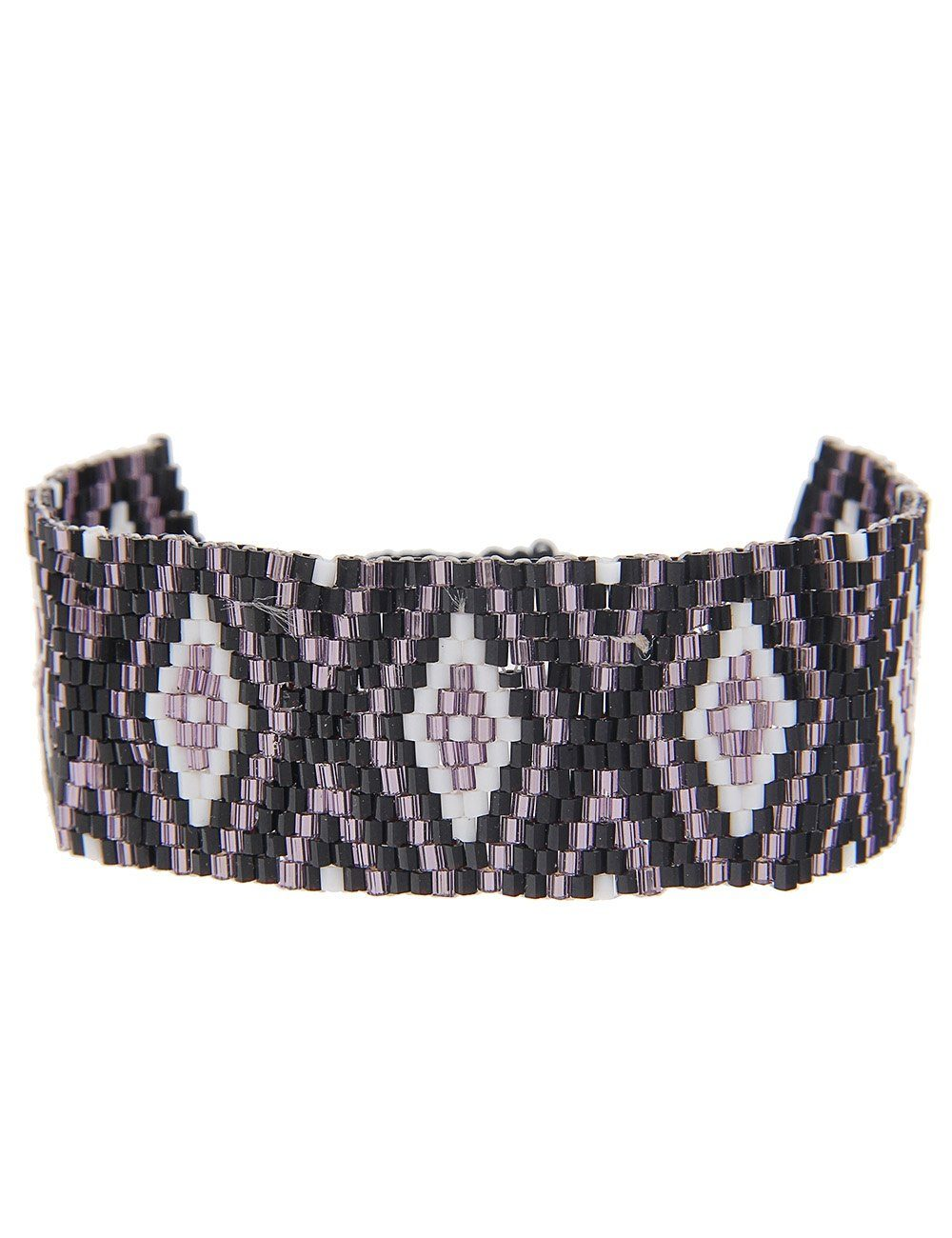 Leslii Armband mit Web-Muster