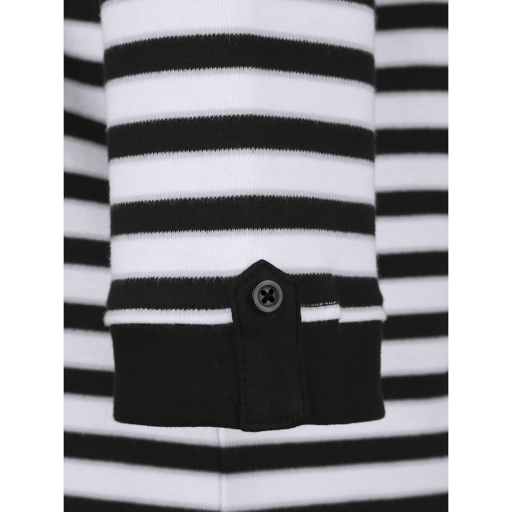 Dress In Poloshirt, in Streifenoptik