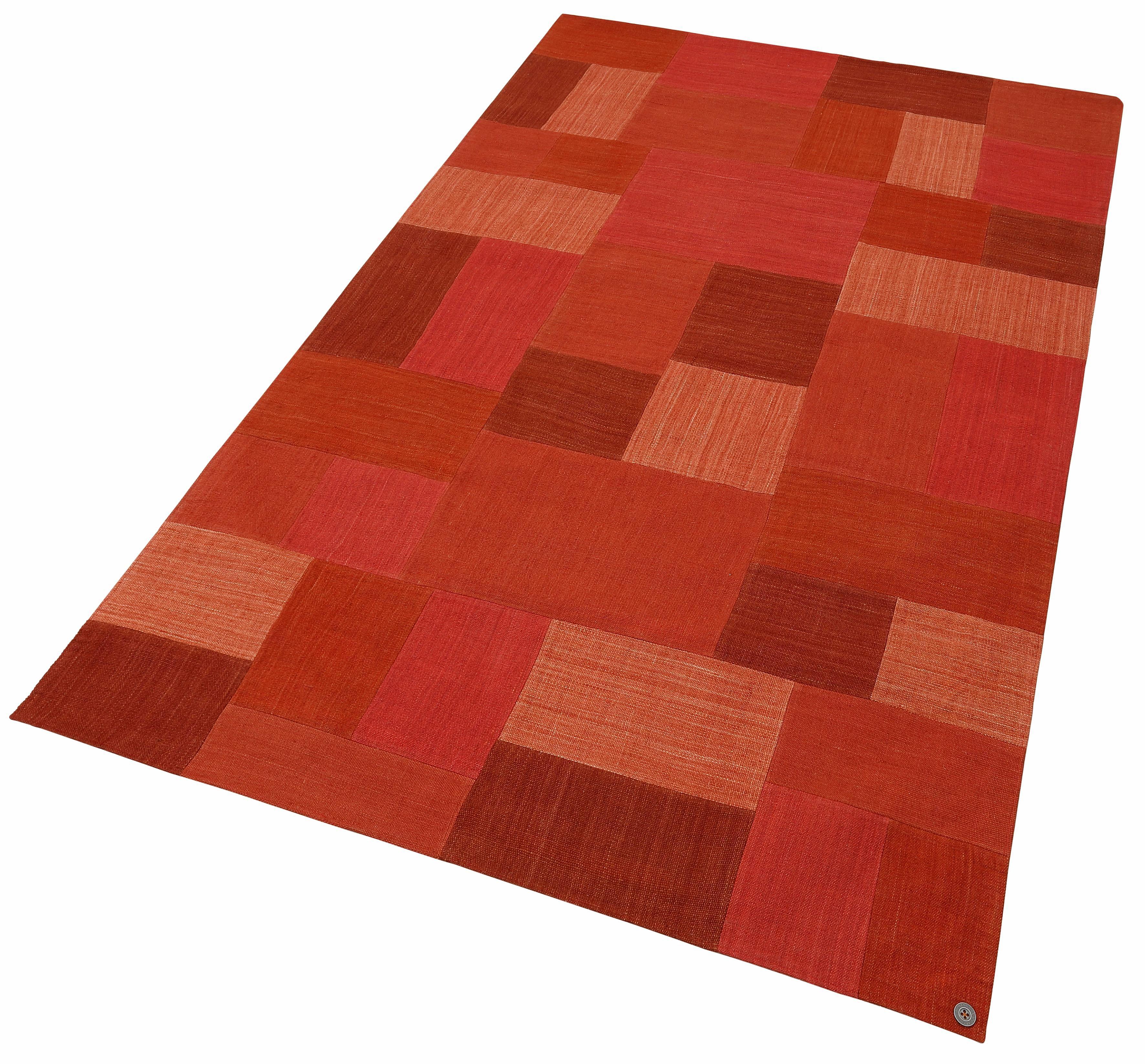 Teppich Patch Denim TOM TAILOR rechteckig Höhe 5 mm handgewebt