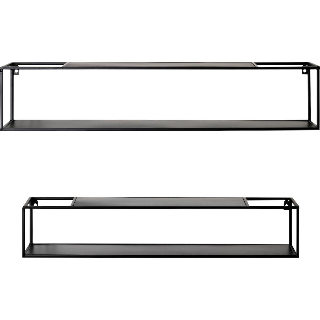 HAKU Wandregal »22574«, Breite 85 und 75 cm