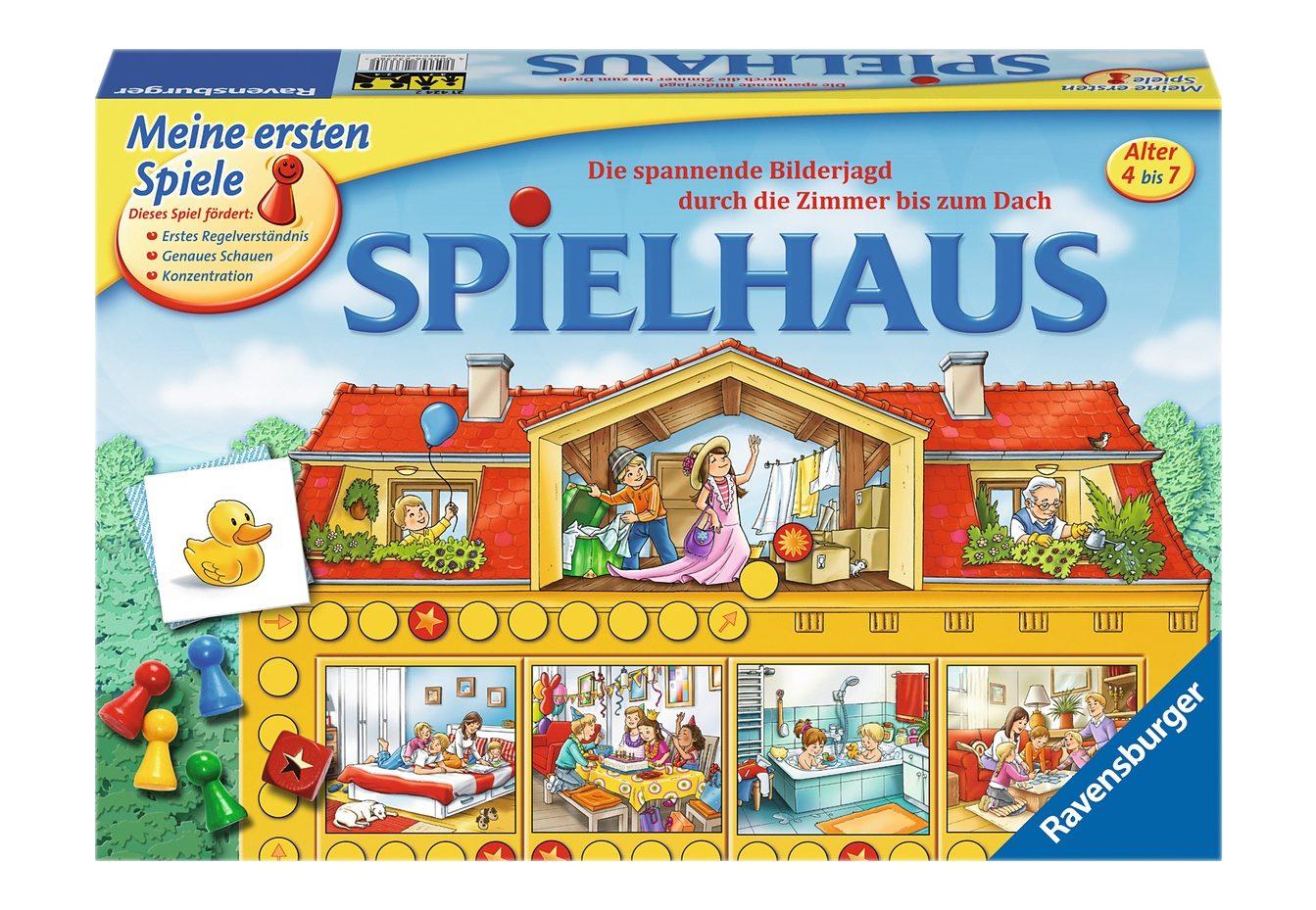 Ravensburger Kinder-Spiel,  Spielhaus  Preisvergleich