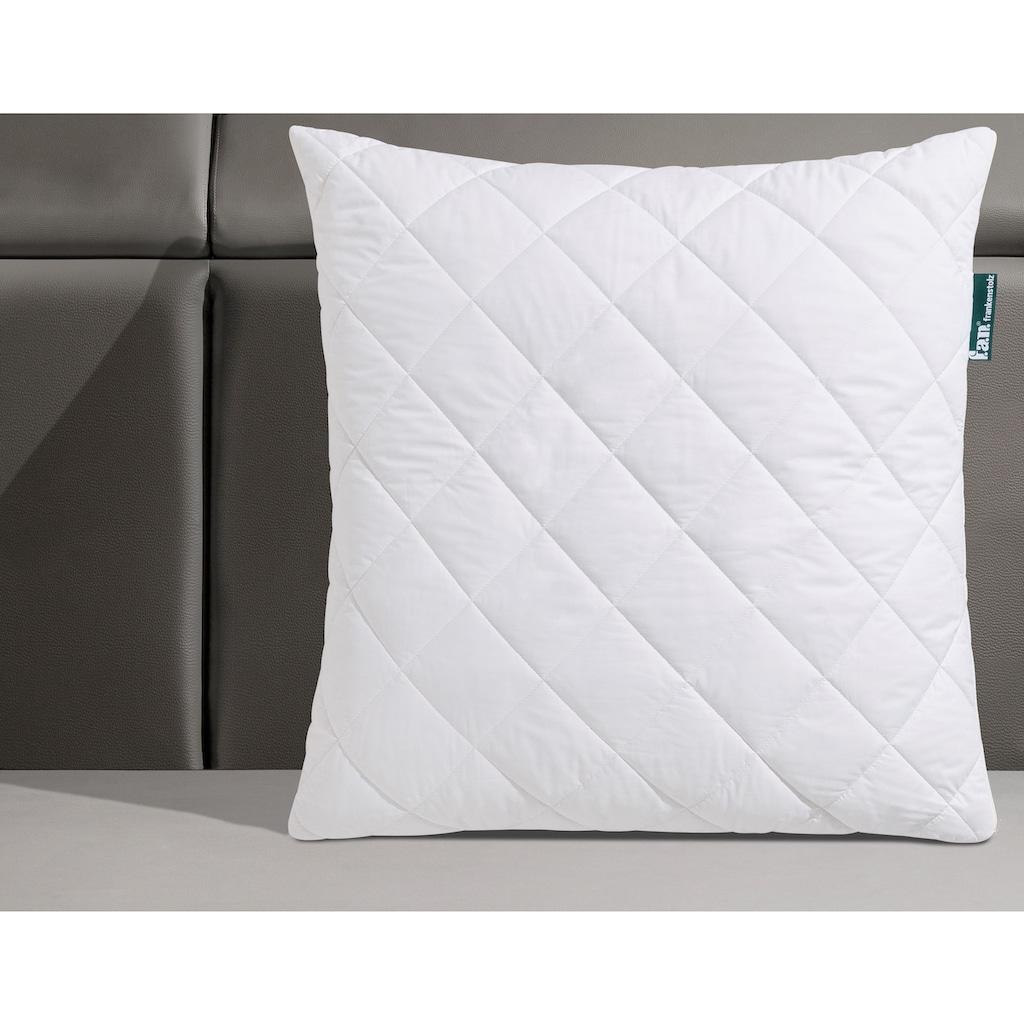 f.a.n. Schlafkomfort Naturfaserkissen »Argali«, Füllung: Argalihaar, Bezug: 100% Baumwolle, (1 St.), mit Kachmirfeeling