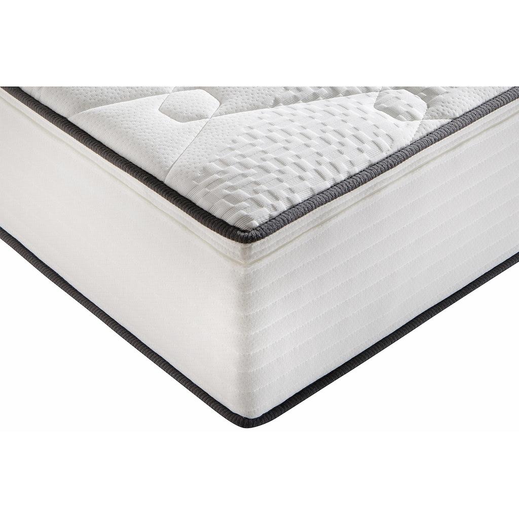 Breckle Komfortschaummatratze »Double Comfort«, (1 St.), hoch und formstabil, bezahlbarer Liegekomfort für den gehobenen Anspruch, Made in Germany