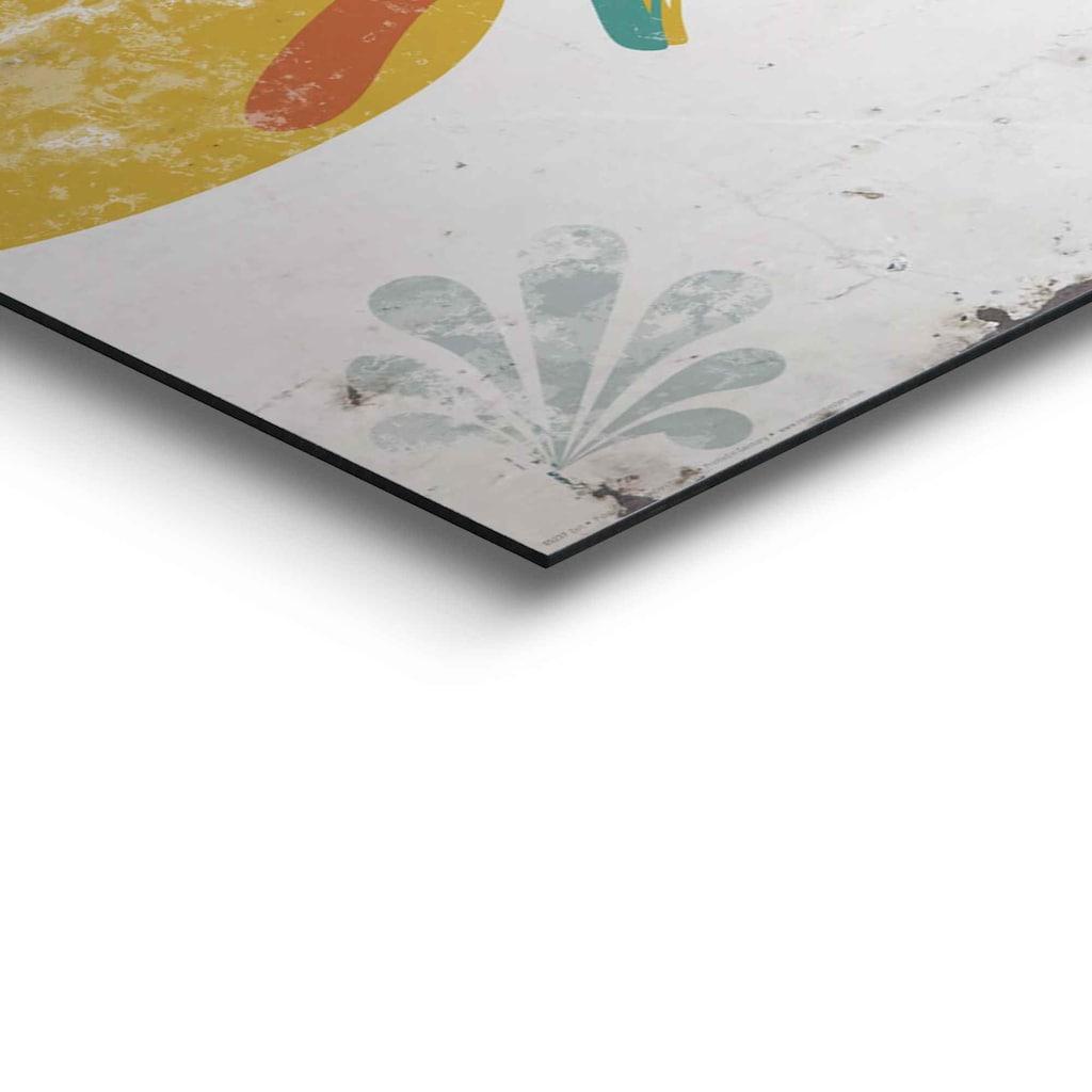 Reinders! Wandbild »Wandbild Zeit Glück - Lebensfreude - Weisheit«, Schriftzug, (1 St.)