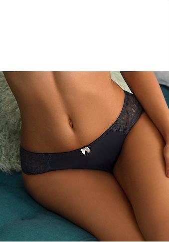 LASCANA Slip »Carina«, mit seitlichen Spitzeneinsätzen kaufen