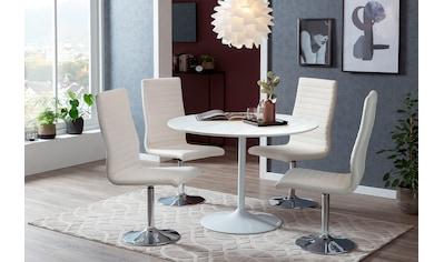 SalesFever Esstisch, Tischplatte in Marmoroptik kaufen