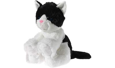 """Heunec® Kuscheltier """"Glitter Kitty Katzenbaby Schwarz - Weiß, 24 cm"""" kaufen"""