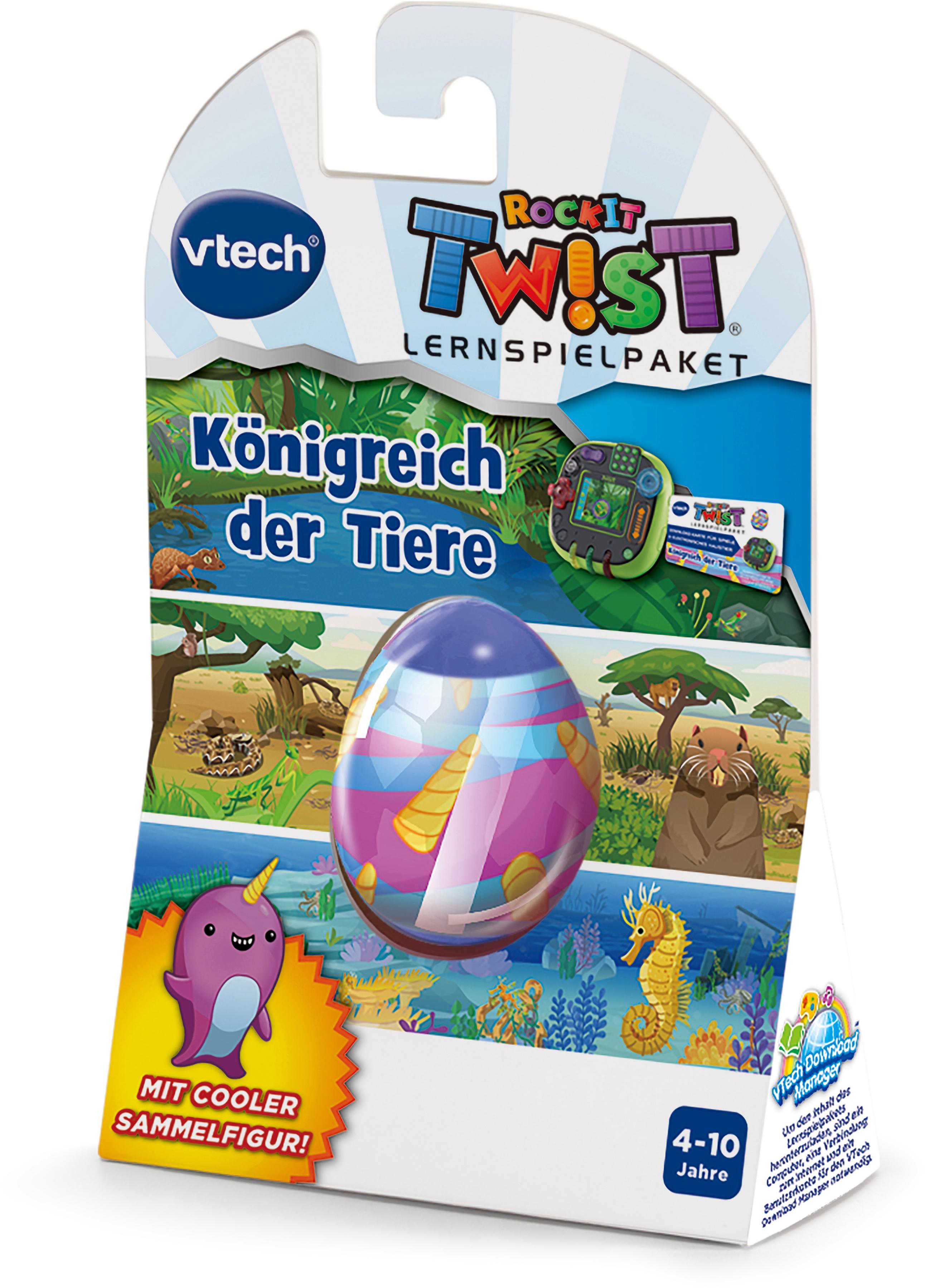 RockIt TWIST - Königreich der Tiere vtech bunt Kinder Kinder-Computer Lernspielzeug Computerspiel