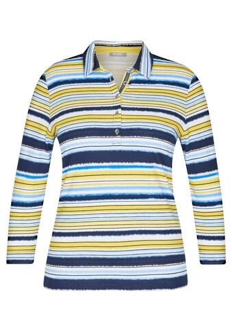 Rabe Langarmshirt, mit gestreiftem Muster und Ärmeln in 7/8-Länge kaufen