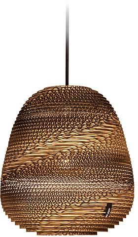 think paper Hängeleuchte Binky 210, E27, 1 St., Deckenlampe, Hängelampe, Papierlampe, edles Design