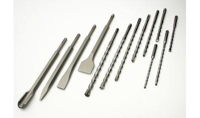 Brüder Mannesmann Werkzeuge Bohrer- und Meißelsatz »SDS-Plus (13-tlg.)«, (13 tlg.) kaufen
