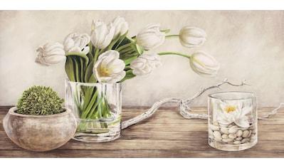 Home affaire Deco-Panel »REMY DELLAL / Tulpen Arrangement«, (100/3/50 cm) kaufen