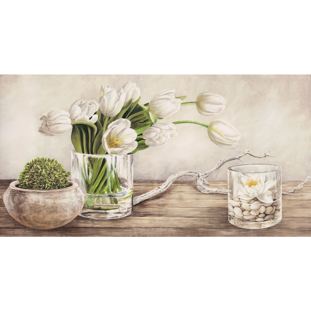 Home affaire Deco-Panel »REMY DELLAL / Tulpen Arrangement«, (100/3/50 cm)