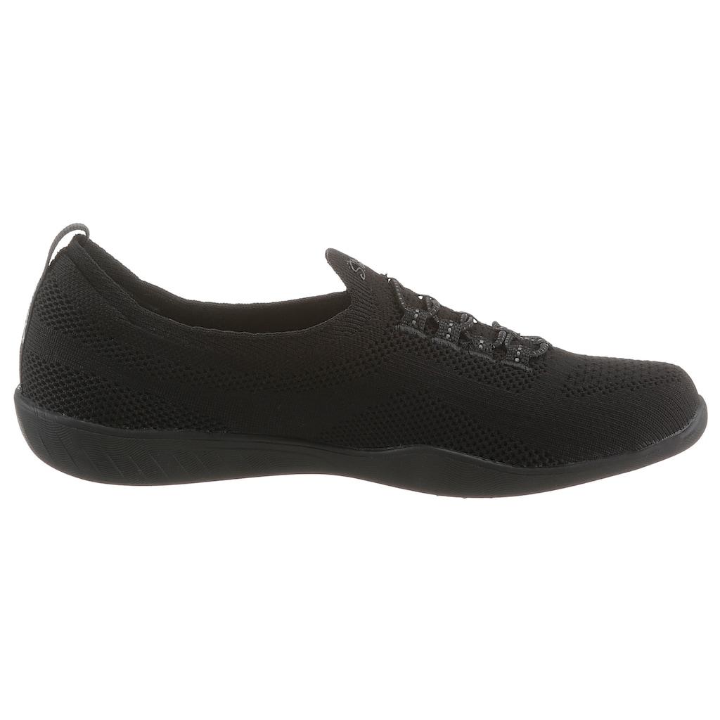 Skechers Slip-On Sneaker »NEWBURY ST EVERY ANGLE«, für Maschinenwäsche geeignet