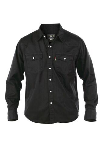 Duke Clothing Jeanshemd »Herren Western Denim Hemd« kaufen