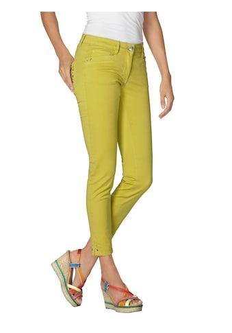 Amy Vermont 7/8-Jeans, mit Nieten- und Ösendetails kaufen