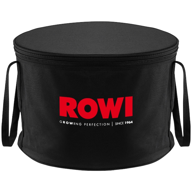 ROWI VIVA CLASSIC mobiler Tisch-Holzkohlegrill Lüfter Tischgrill Camping Grill