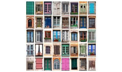 Art & Pleasure Acrylglasbild »Window group«, Fenster & Türen kaufen