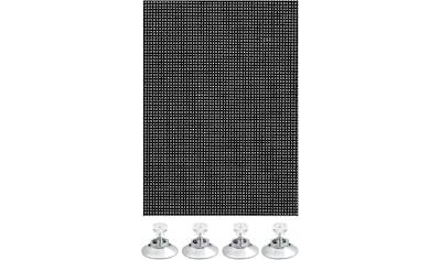Sonnenschutz - Fensterfolie, »Flexibler Sonnenschutz mit Saugnäpfe«, GARDINIA, transparent kaufen