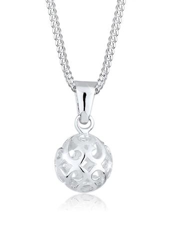 Elli Kette mit Anhänger »Kugel Ornament Verspielt 925 Sterling Silber« kaufen