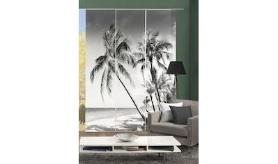 HOME WOHNIDEEN Schiebegardine »PALMIRA«, blickdicht, Digital bedruckt kaufen