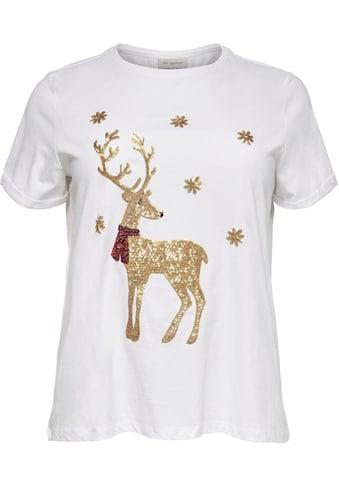 ONLY CARMAKOMA T - Shirt »mit X MAS  -  Motiv« kaufen