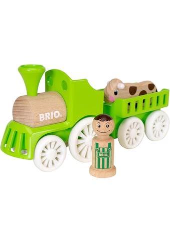 """BRIO® Spielzeug - Eisenbahn """"My Home Town Lok mit Kuh - Anhänger"""" kaufen"""