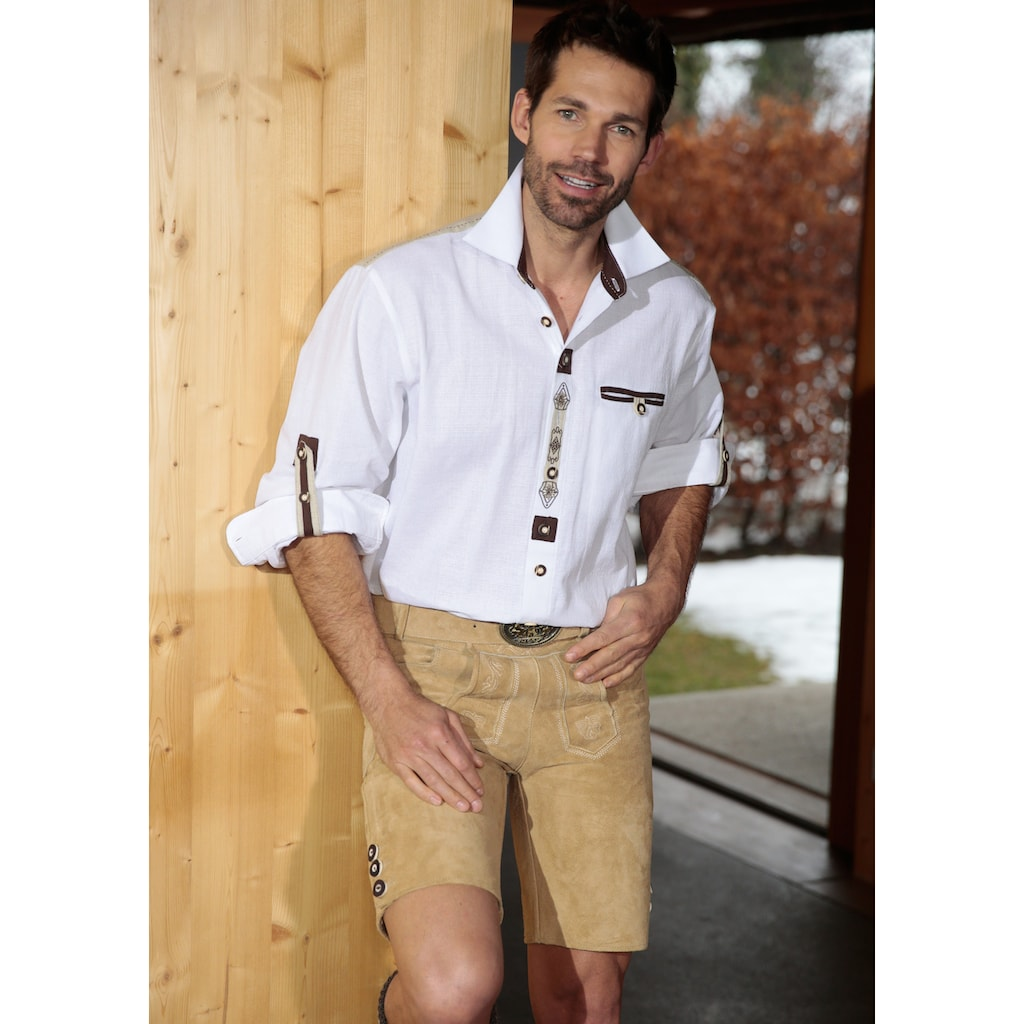 OS-Trachten Trachtenhemd, im Landhausstil