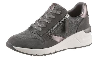 Tamaris Wedgesneaker »REA«, mit schönen Metallic-Details kaufen