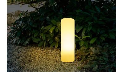HEITRONIC Außen-Stehlampe »Mundan«, E27, 1 St., E27, aus UV-beständigem Kunststoff kaufen
