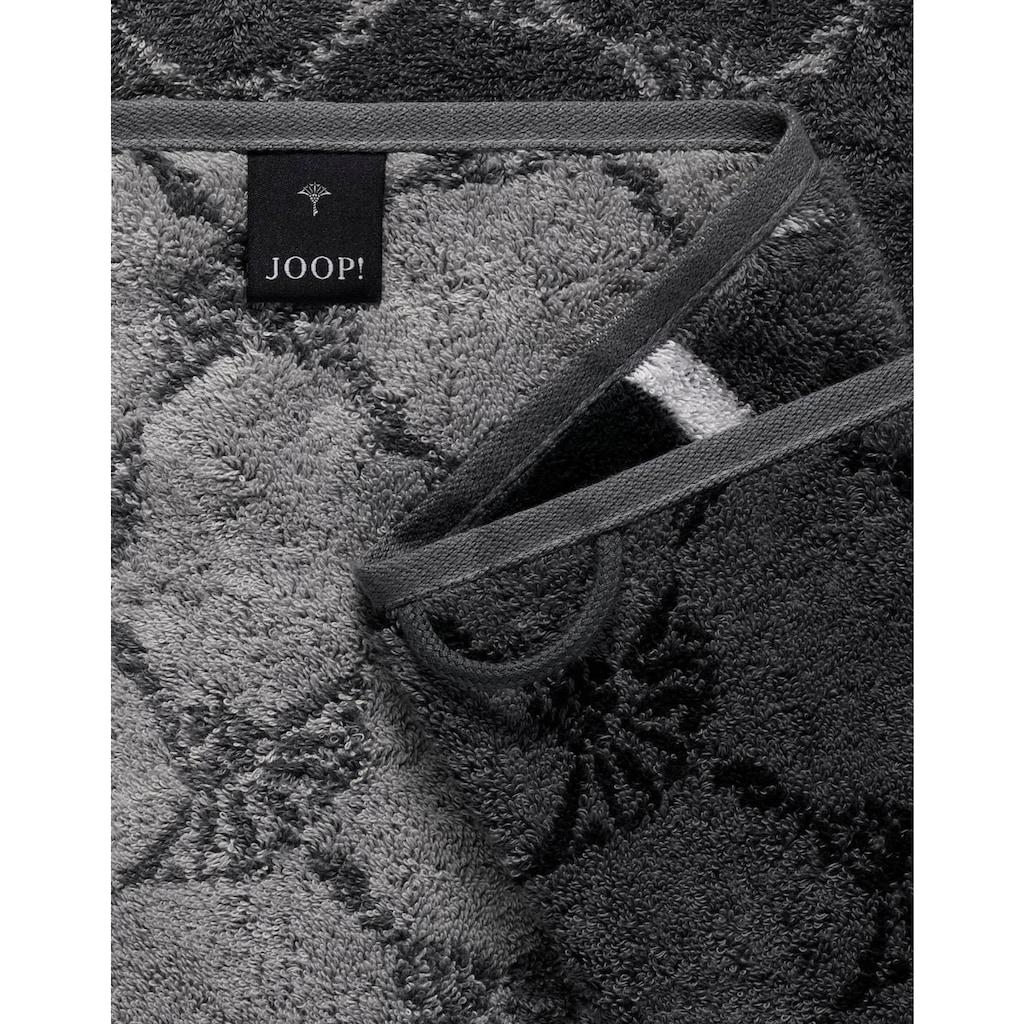 Joop! Saunatuch »Cornflower Stripes«, (1 St.), mit Kornblumen & Streifen