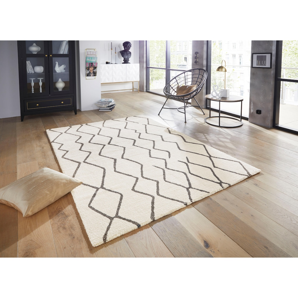 ELLE Decor Teppich »Vienne«, rechteckig, 14 mm Höhe, Wohnzimmer