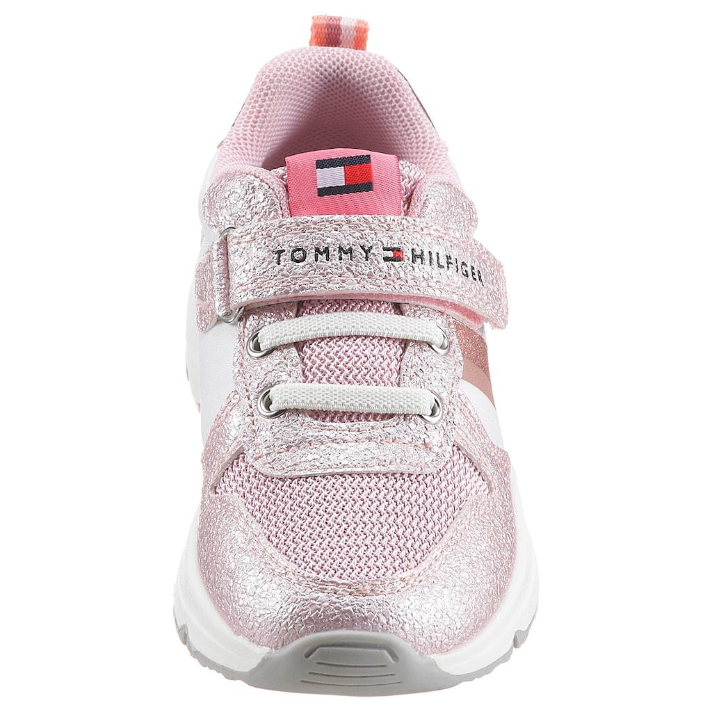 Tommy Hilfiger Sneaker »Cole«, im Metallic Look