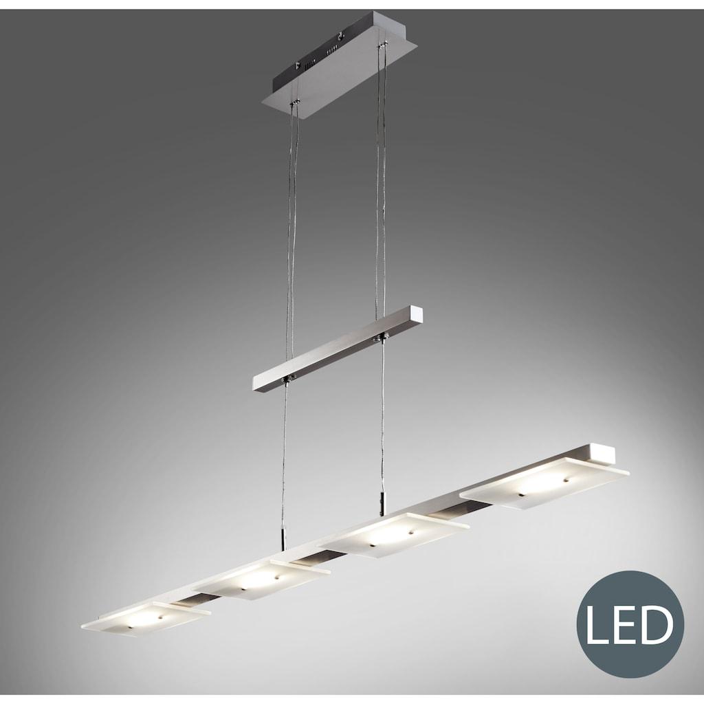B.K.Licht LED Pendelleuchte »Aries«, LED-Board, Warmweiß, LED Deckenleuchte Design Pendel-Leuchte inkl. 18W 1600lm Hänge-Lampe Esszimmerlampe