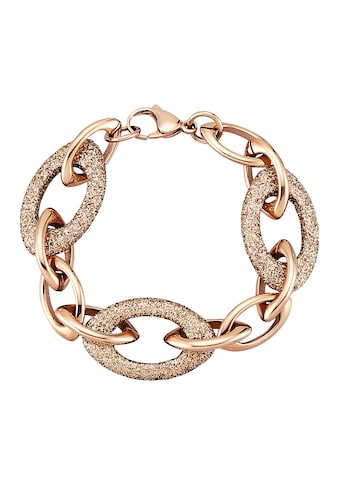 Jacques Lemans Armband »Edelstahl PVD rotvergoldet« kaufen