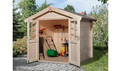 WEKA Gartenhaus »Jens Gr.1«, BxT: 253x230 cm kaufen