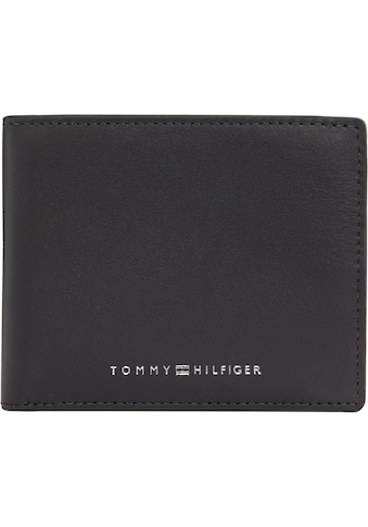 TOMMY HILFIGER Geldbörse »TH METRO MINI CC WALLET«, aus weichem Leder kaufen