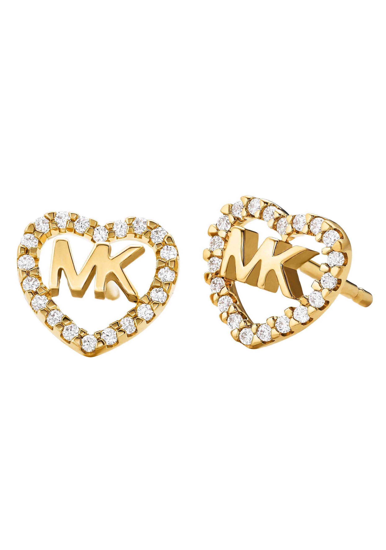 MICHAEL KORS Paar Ohrstecker HEARTS MKC1243AN710 | Schmuck > Ohrschmuck & Ohrringe > Ohrstecker | Goldfarben | Michael Kors